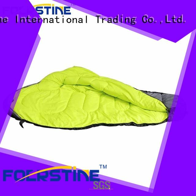 Foerstine inflatable camping sleeping bag marketing for hiking