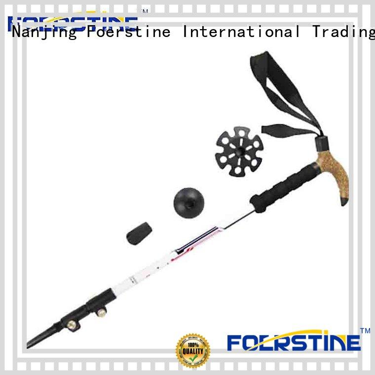 Foerstine fashion collapsible trekking poles company for traveling