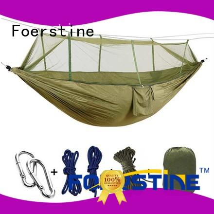 Foerstine high quality best hammock in china for outdoor leisure