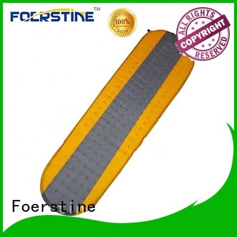 Foerstine lightweight self inflating sleeping pad dropshipping for hiking