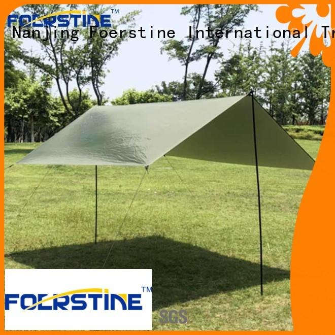Foerstine compact camping tarp in different color protect from UV