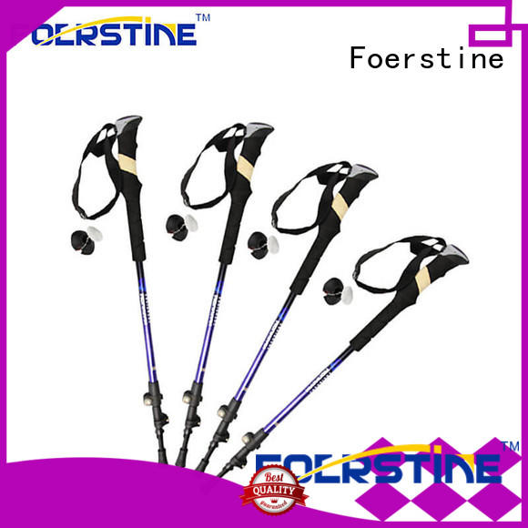 Foerstine widely used best hiking poles factory price for hiking
