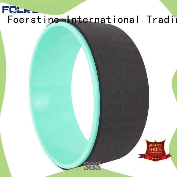 Foerstine roller dharma yoga wheel plus outdoor for yoga