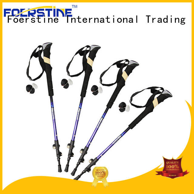 Foerstine widely used best walking poles bulk production for hiking