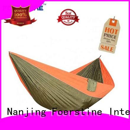 Foerstine great practicality outdoor hammock in china for swinging