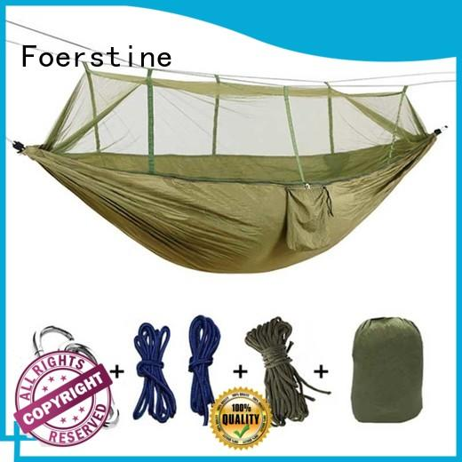 Foerstine portable double hammock dropshipping for resting