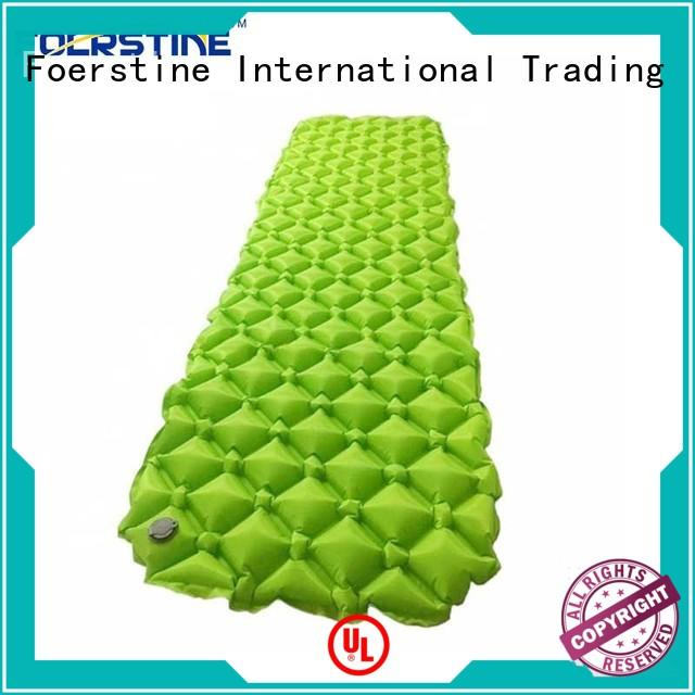 portable inflatable sleeping mat pad bulk production for backpacking