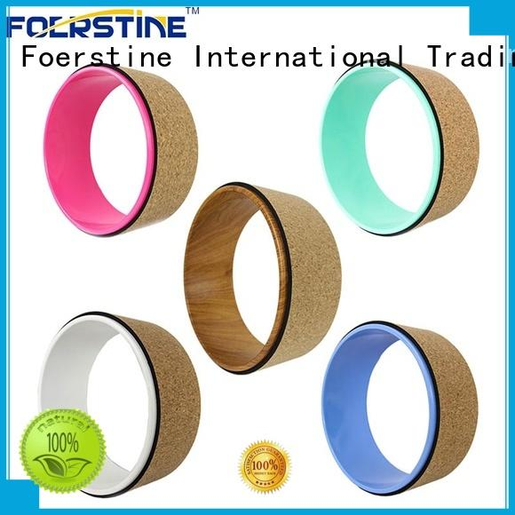 Foerstine popular yoga wheel vendor for yoga