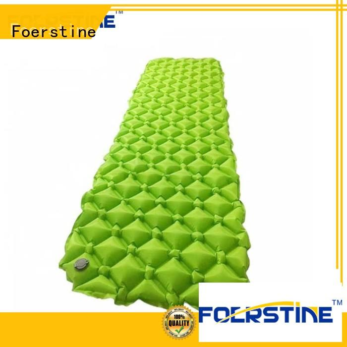 Foerstine comfortable camping pad marketing for hiking