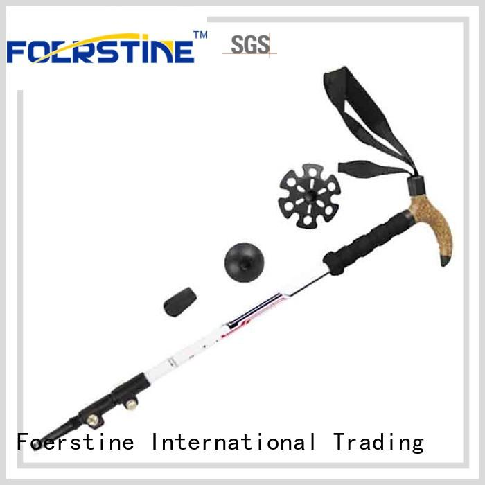 Foerstine widely used black diamond collapsible trekking poles wholesale for outdoor