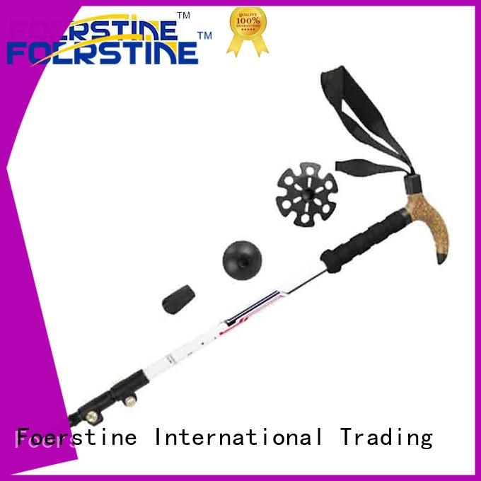 Foerstine fashion nordic walking poles in different shape for hiking