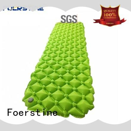 Foerstine soft self inflating sleeping pad for manufacturer for hiking