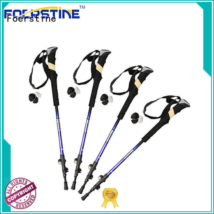 Foerstine durable trekking pole backpack in different shape for hiking