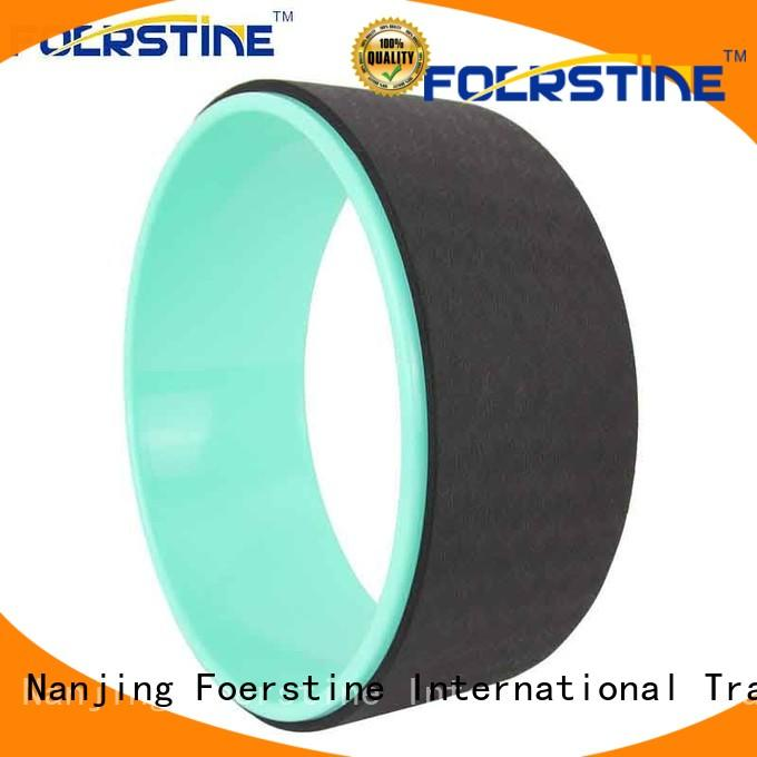 Foerstine comfortable wheel yoga prop cork for yoga