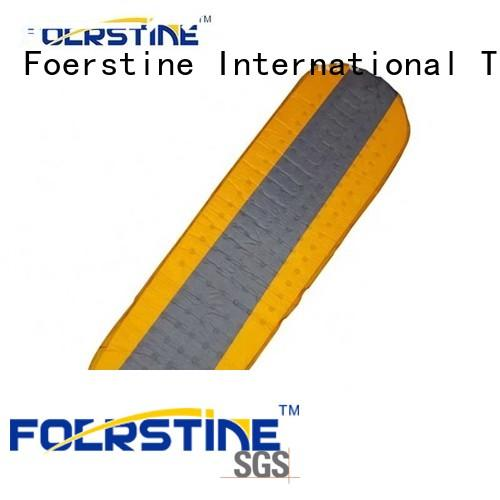 Foerstine waterproof lightweight camping pad bulk production for hiking
