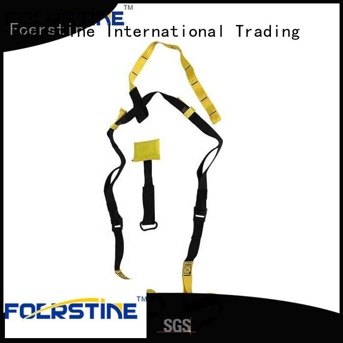 Foerstine st01 suspension trainer bulk production for outdoor sport