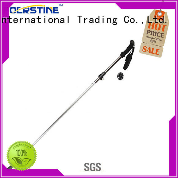 Foerstine easy to hold best hiking poles in different shape for hiking