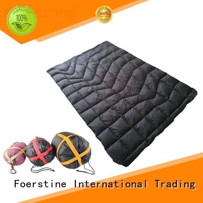 Foerstine backpacking inflatable sleeping mat series for hiking