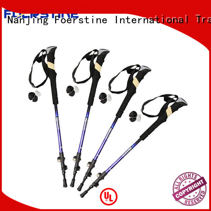 Foerstine widely used best trekking poles producer for hiking