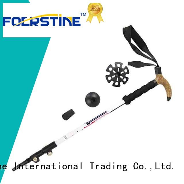Foerstine durable walking sticks for hiking in different shape for hiking