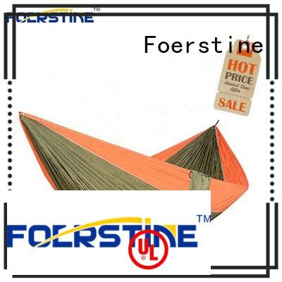 Foerstine modern double hammock newly for resting