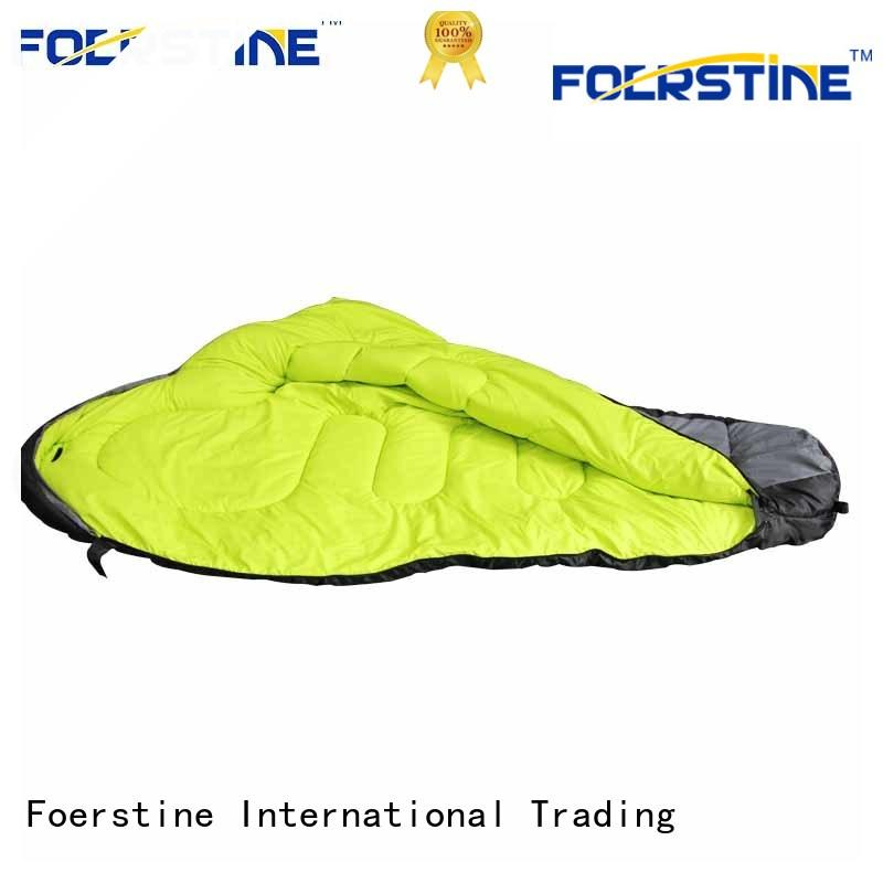 Foerstine backpacking cotton sleeping bags for adults company for traveling