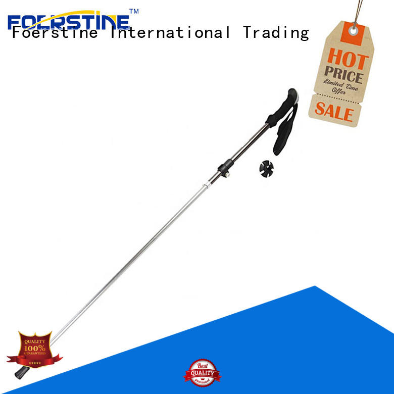 Foerstine easy to hold best hiking poles factory price for hiking