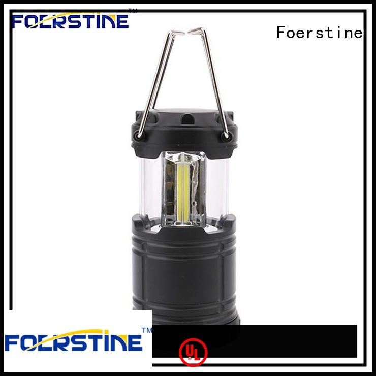 Foerstine light rechargeable camping lantern wholesale for camping