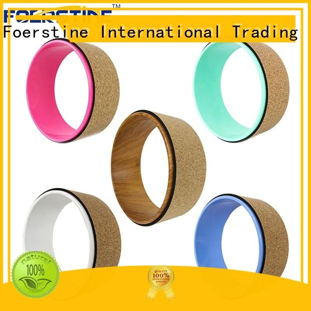 Foerstine colorful yoga pro wheel overseas market for yoga