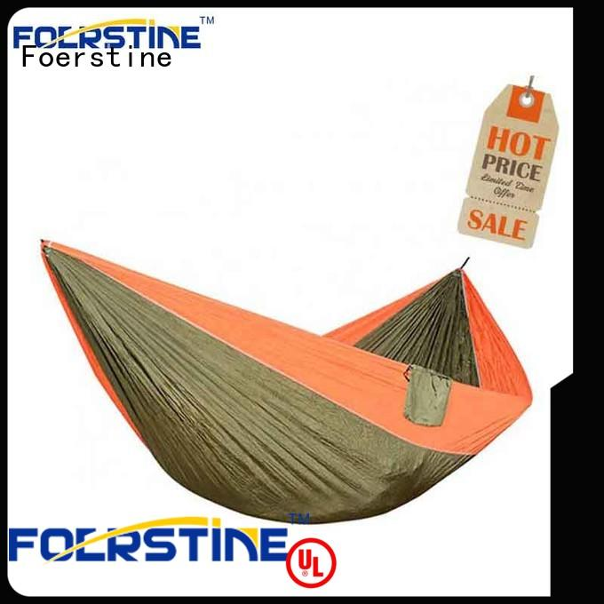 Foerstine hiking double hammock with cover overseas market for swinging