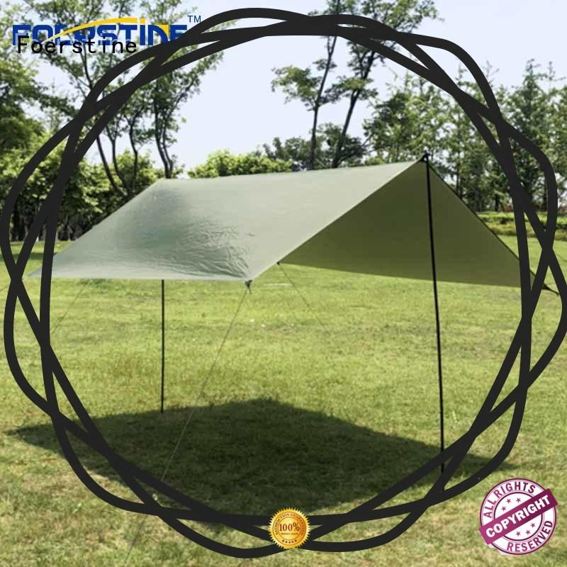 Foerstine rf01 rain tarp from china protect from UV