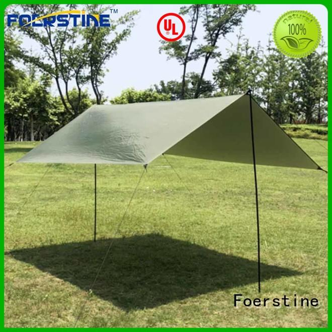 Foerstine tent tarp tent accessories in different color for outdoor