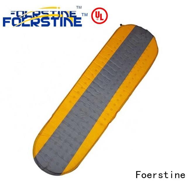 Foerstine mat camping sleeping pad for hiking