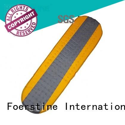 Foerstine compact inflatable sleeping pad for manufacturer for hiking