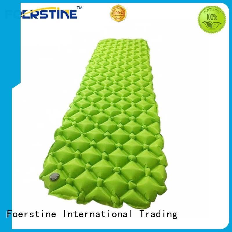 sleeping inflatable sleeping mat for backpacking Foerstine