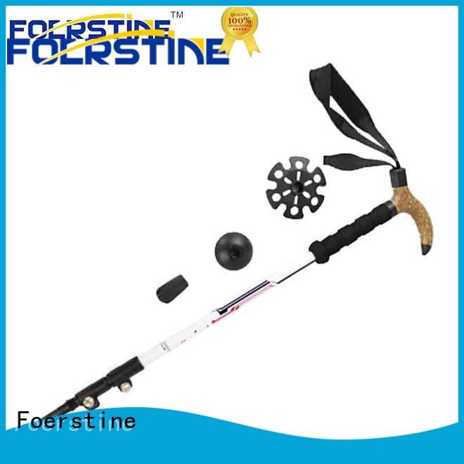 high-quality collapsible hiking pole wholesale for hiking Foerstine