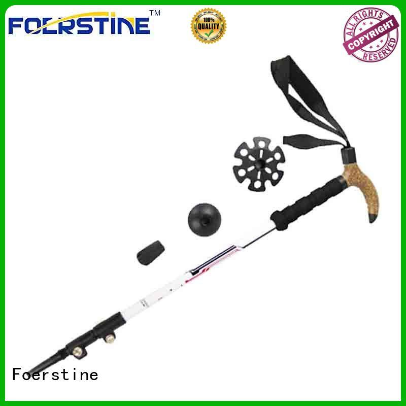 comfortable lightweight walking poles supplier for hiking Foerstine