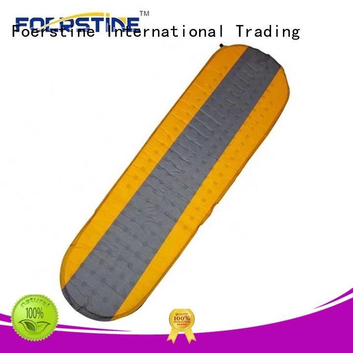 Foerstine waterproof self inflating sleeping pad for backpacking