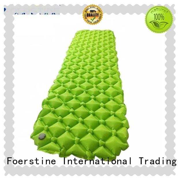Foerstine portable self inflating sleeping pad for manufacturer for hiking