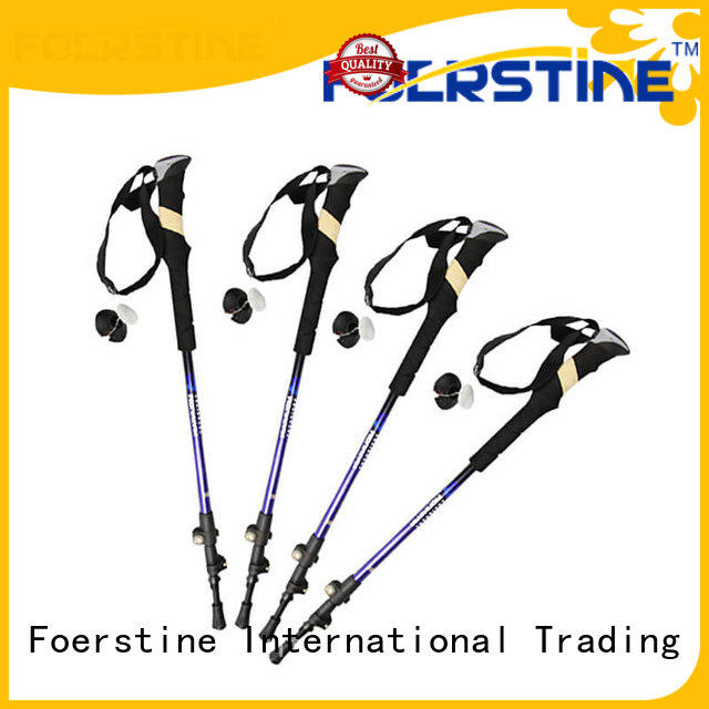 Foerstine mens walking sticks supplier for hiking