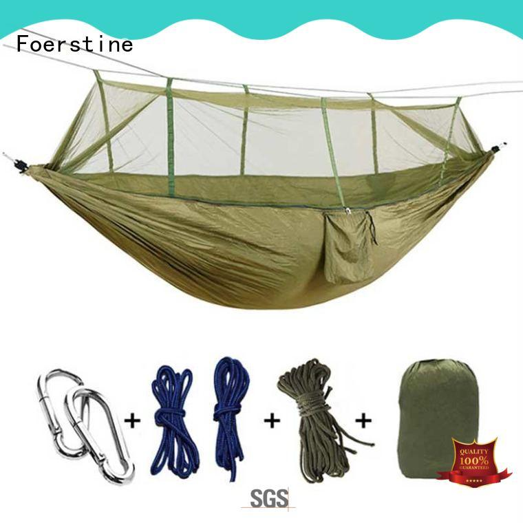 Foerstine stable 2 person hammock in china for resting