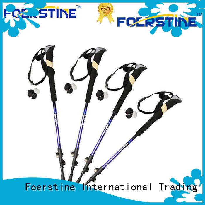 Foerstine widely used titanium hiking pole manufacturers for traveling