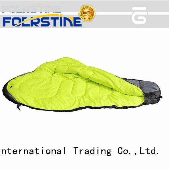 Foerstine portable best sleeping bags series for backpacking